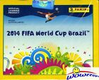 2014 Panini World Cup Brazil HUGE Factory Sealed 50 Pack Sticker Box-350 Sticker