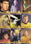 STAR TREK THE ORIGINAL SERIES TOS 1 1997 AUTOGRAPH CHALLENGE INSERT SET OF 11