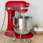 KitchenAid KSM8990ER Empire Red NSF 8 Qt. Bowl Lift Commercial Countertop Mixer
