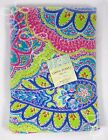 Cynthia Rowley paisley lime green pink beach pool bath cotton towel 36