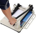 12 Manual Guillotine Paper Cutter Trimmer Machine Commercial Heavy Duty A4 US