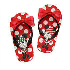 MINNIE MOUSE Girls Flip Flops w Optional Sunglasses NWT Toddlers Beach Sandals