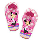 MINNIE MOUSE Girls Flip Flops w Optional Sunglasses Toddlers Beach Sandals NWT