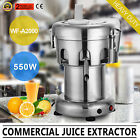 Commercial Juicer Machine Juice Masticating Fruit Vegetable Extractor Maker