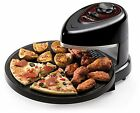 Presto Pizzazz Rotating Pizza Oven Baking Easy Clean Cooker Nonstick Countertop