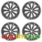 Tesla Model S 2012 2016 21 Set of Four Factory OEM Charcoal Wheels Rims