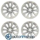 Tesla Model S 2016 19 Factory OEM Wheels Rims Set Slipstream