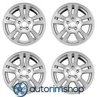 Ford Edge 2007 2012 17 Factory OEM Front Wheels Rims Set Silver