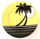 Fitz & Floyd PALM BEACH Decorated Porcelain Salad/Dessert Dish Plate 7.5