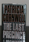 The Last Precinct by Patricia Cornwell Hardcover Autographed