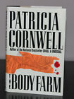 Body Farm by Patricia Cornwell Hardcover First Edition Autographed