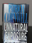 Unnatural Exposure by Patricia Cornwell Hardcover Autographed