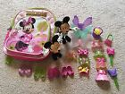 Minnie Mouse Bowtique Snap On Dress Toys Lot