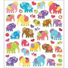 Scrapbooking Crafts Stickers Patterned Elephants Colorful Bows Hearts Birds Dots