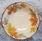 Franciscan October Round Vegetable Serving Bowl Autumn Leaves USA EUC