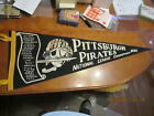 1960 Pittsburgh Pirates Team scroll Pennant National League Champs black writing