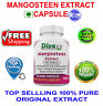High Quality Mangosteen Extract 500 mg Capsules Pure Naturals Herbal Extract