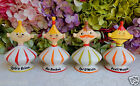 4 Rare Vintage Grant Holt Howard Pixie Pixieware Figurines Mint