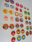 TREND 1989 Vintage scratch n sniff stickers lot of 2 sets 1980s Stinky glossy