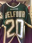 2000-01 Ed Belfour Dallas Stars Game Used Jersey MeiGray Hall of Fame