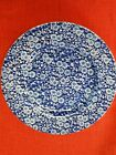 Lot of (5) Queen's - Calico Blue - Dinner Plate - 10 1/2