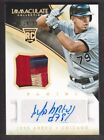 2014 Immaculate Rookie Auto Jersey Patch #154 Jose Abreu 38 99 Chicago White Sox