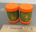 retro camping set of salt and pepper shakers great collectible items FUN