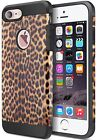 ACCBTECH iPhone 7 Case iPhone 7 Dual Layer Camouflage Shockproof and Shock Ab...