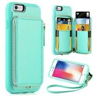 iphone 6 Wallet case iphone 6s Leather Case ZVE Apple iphone 6 Case with Cred...