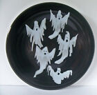 Fiesta Halloween NEW Ghosts Decal Slate Luncheon Plate 1st Quality
