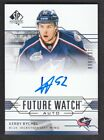 2014-15 SP Authentic Hockey Future Watch Autographs Gallery, Guide 78
