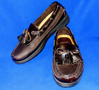 MINTY 85 M SPERRY TOP SIDER KILTIE BROWN CLASSIC BOAT MENS SHOES 0673913