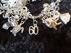 Celebrate Your 60 pound Weight Loss with 60 Charm for Weight Watchers Keychain