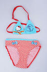 BNWT Hell0 Kitty Baby Girls Red Stripes Bikini 2pc Bathing Swimsuit~Size2 4 6