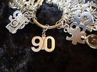 Celebrate Your 90 pound Weight Loss with 90 Charm for Weight Watchers Keychain