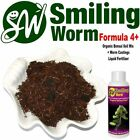 SMILING WORM F4 Organic Larch Tree Bonsai Soil Potting Mix with Charcoal
