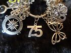 Celebrate Your 75 pound Weight Loss with 75 Charm for Weight Watchers Keychain