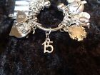 Celebrate Your 15 pound Weight Loss with 15 Charm for Weight Watchers Keychain