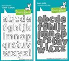 Lawn Fawn Quinns ABCs Clear Stamp LF353 or Craft Die LF490