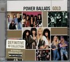 Power Ballads Gold by Various Artists (CD, 2005, Hip-O) 2 CD SET SEALED