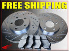 GEO PRIZM SK Rear Drum model 89 90 91 92 BRAKE ROTORS + PADS F