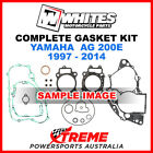 Whites Yamaha AG200E AG 200E 1997-2014 Complete Top Bottom Gasket Kit