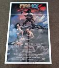 Fire  Ice US 1983 original folded 27 by 41 one sheet movie poster ex cond