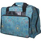 Janome Singer Brother Universal Sewing Machine Tote Bag Carrying Case, Blue