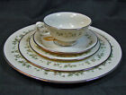 Lenox Brookdale 5 pc Place Setting Mint Condition Platinum Band with Flowers