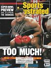 Mike Tyson Signed Feb 1988 Sports Illustrated Magazine BAS Beckett COA Autograph