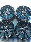 set nissan maxima wheels oem 18 gloss black power coated