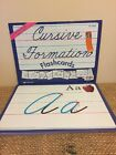 Abeka Cursive Formation Flash Cards Set Of 30 9x12 Homeschool