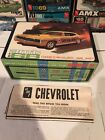 AMT 1968 IMPALA SS 427 ORIGINAL BOX & INSTRUCTION! NICE! KIT#6728! CIRCA 1968!