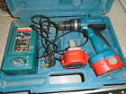 MAKITA 8280D 14.4V CORDLESS DRILL, 2 X  WORKING BATTERY & CHARGER, IN CASE